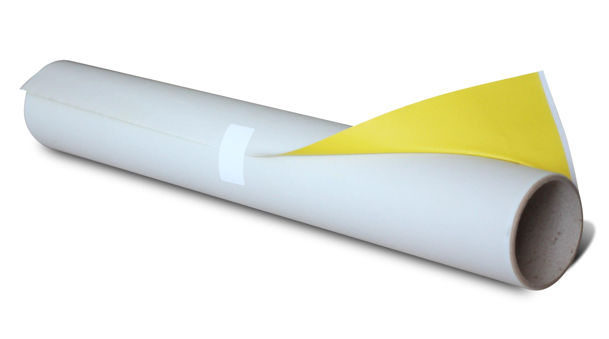 Schneiderkopierpapier auf Rolle 5 Meter x 58 cm gelb