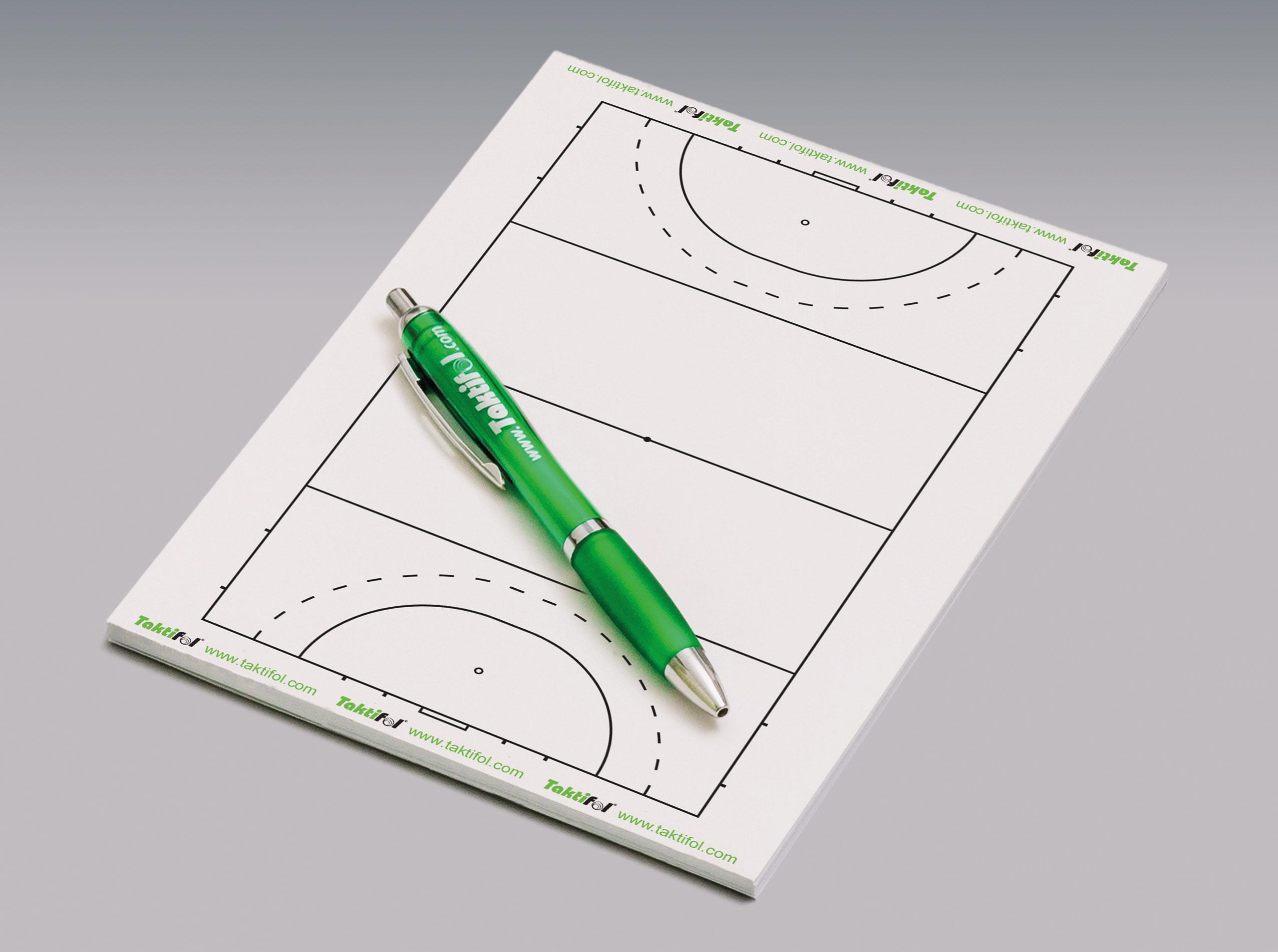Taktik Schreibblock Quicknote Feldhockey