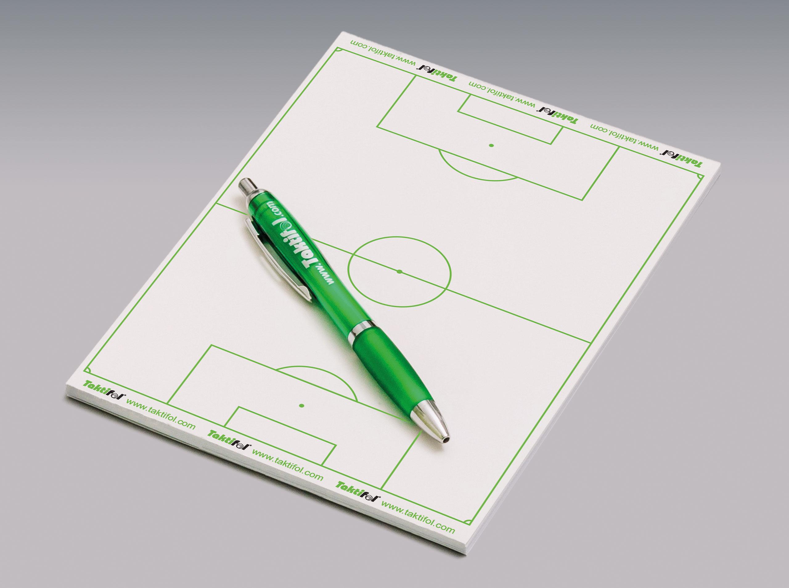 Taktik Schreibblock Quicknote- Soccer