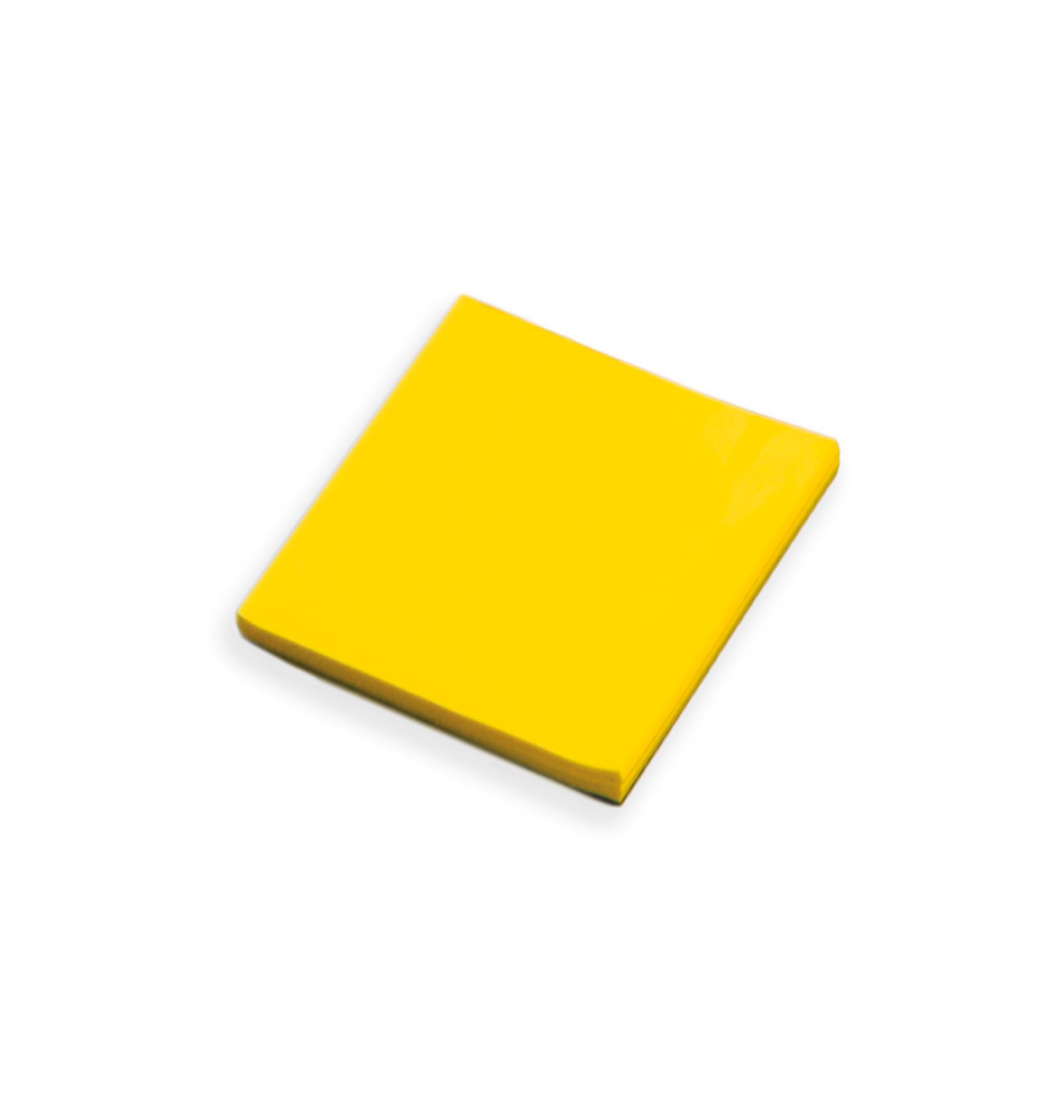 TaktiNotes 9x9cm VE100 gelb