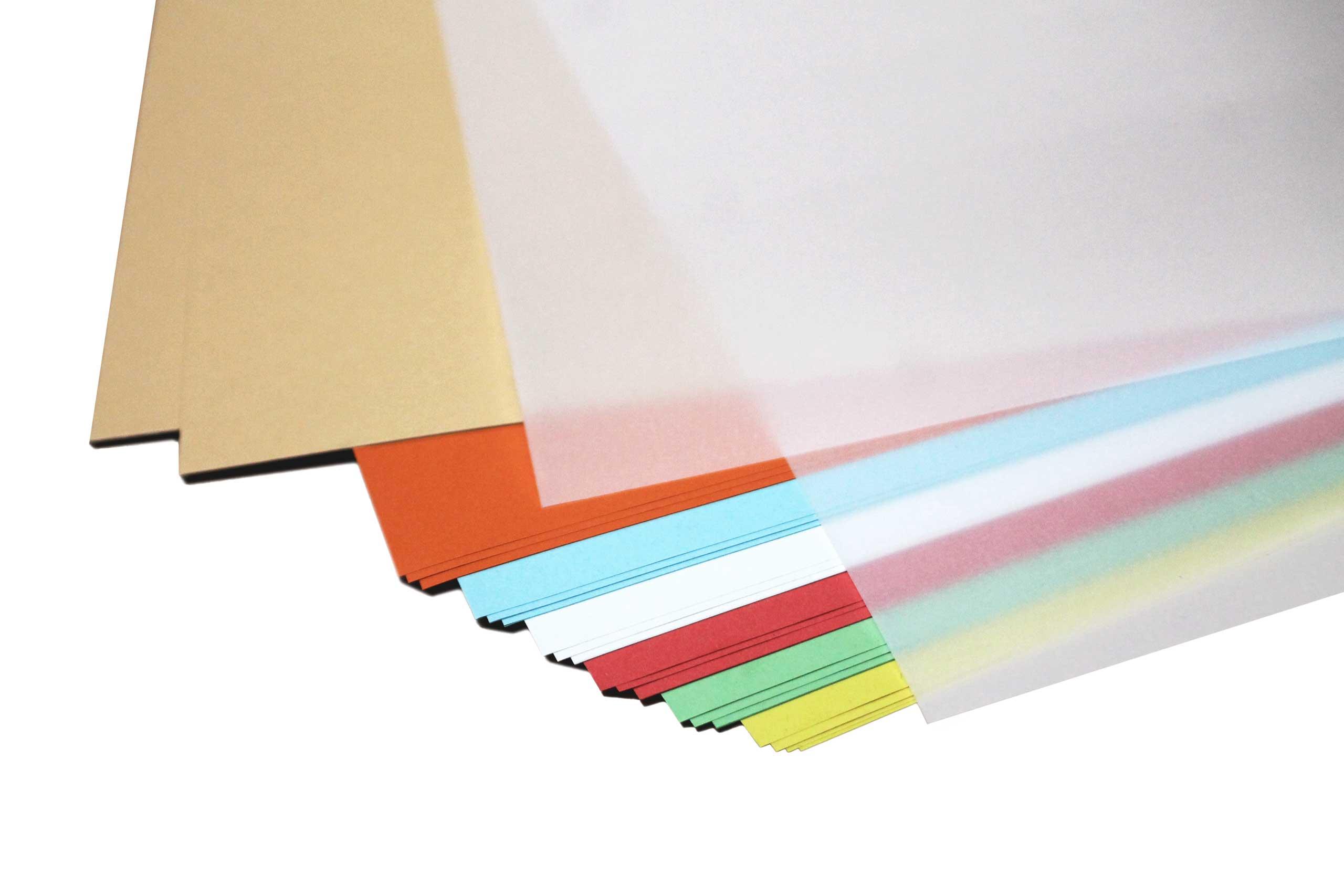 Bastelpapier Kombiset - 22 Großbogen gemischt