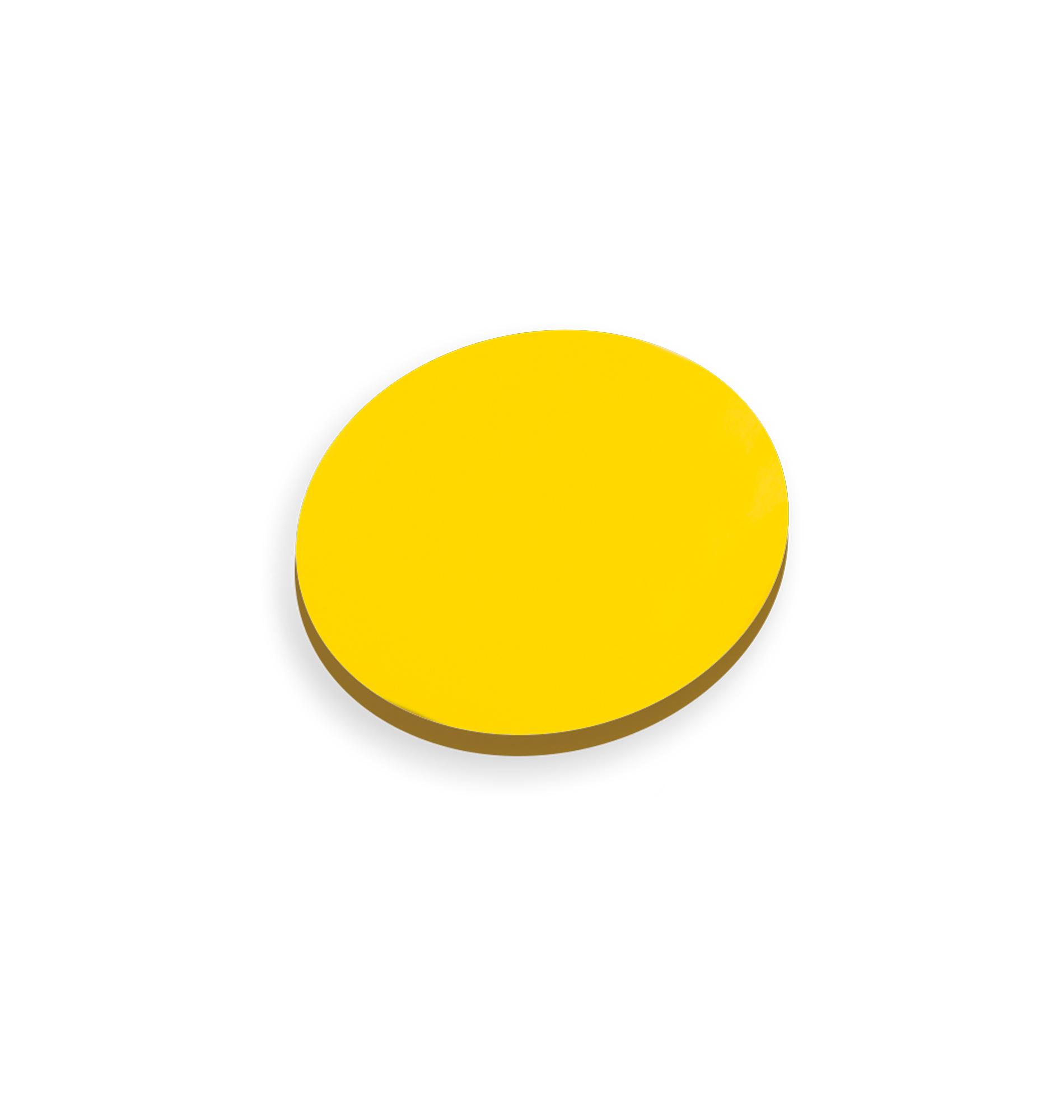 TaktiNotes rund Durchm. 95mm  VE100 gelb