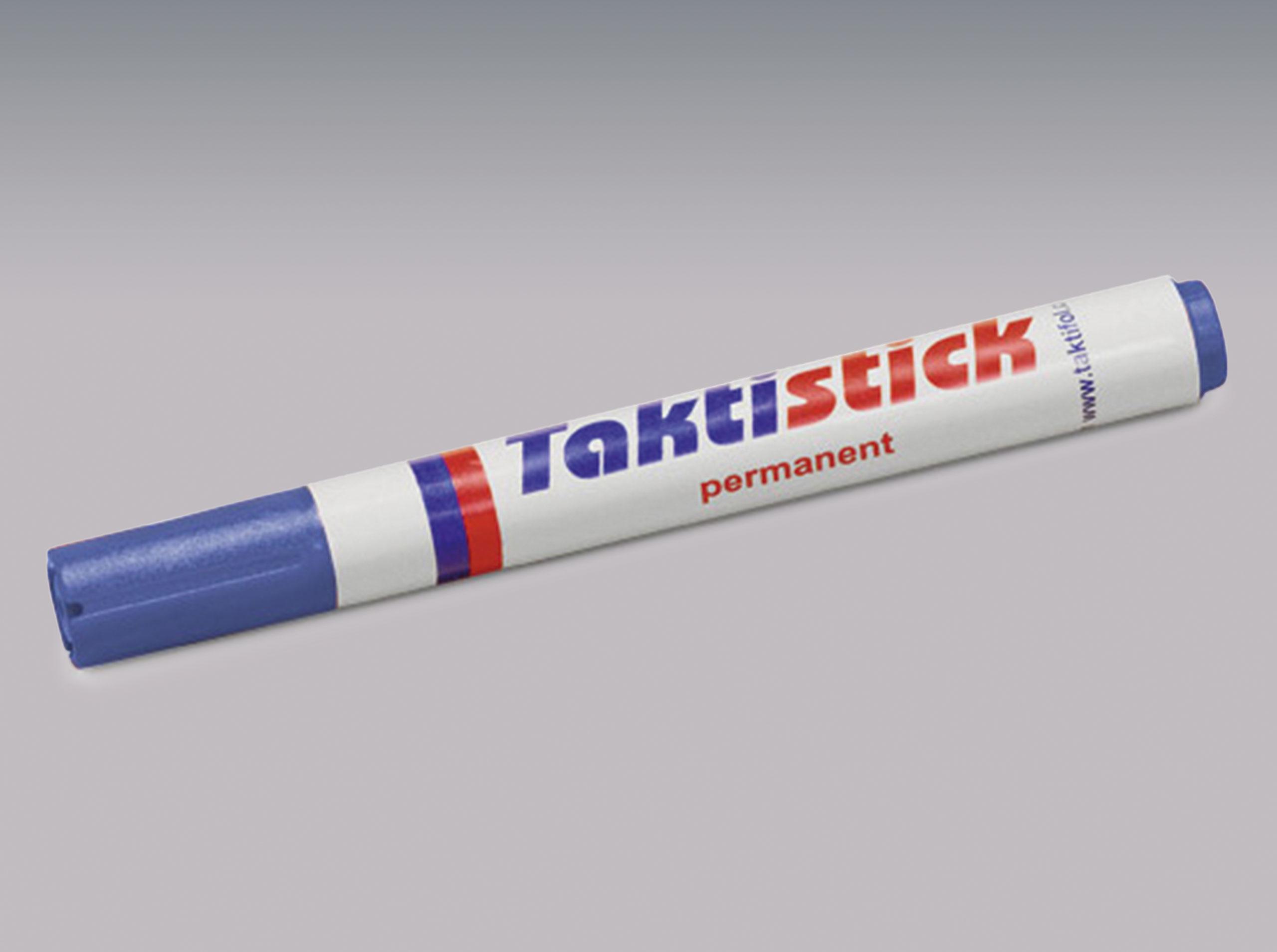 Taktistick-Marker blau permanent