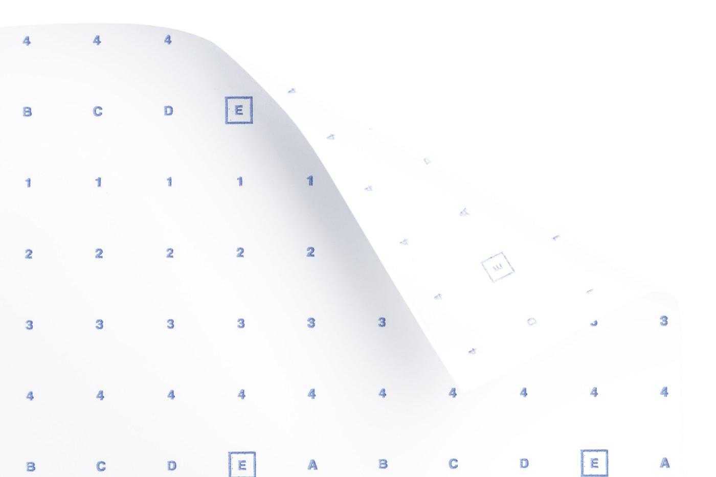 Heißsiegelpapier / Aufbügelpapier bedruckt 60g/m² 91cm 200m