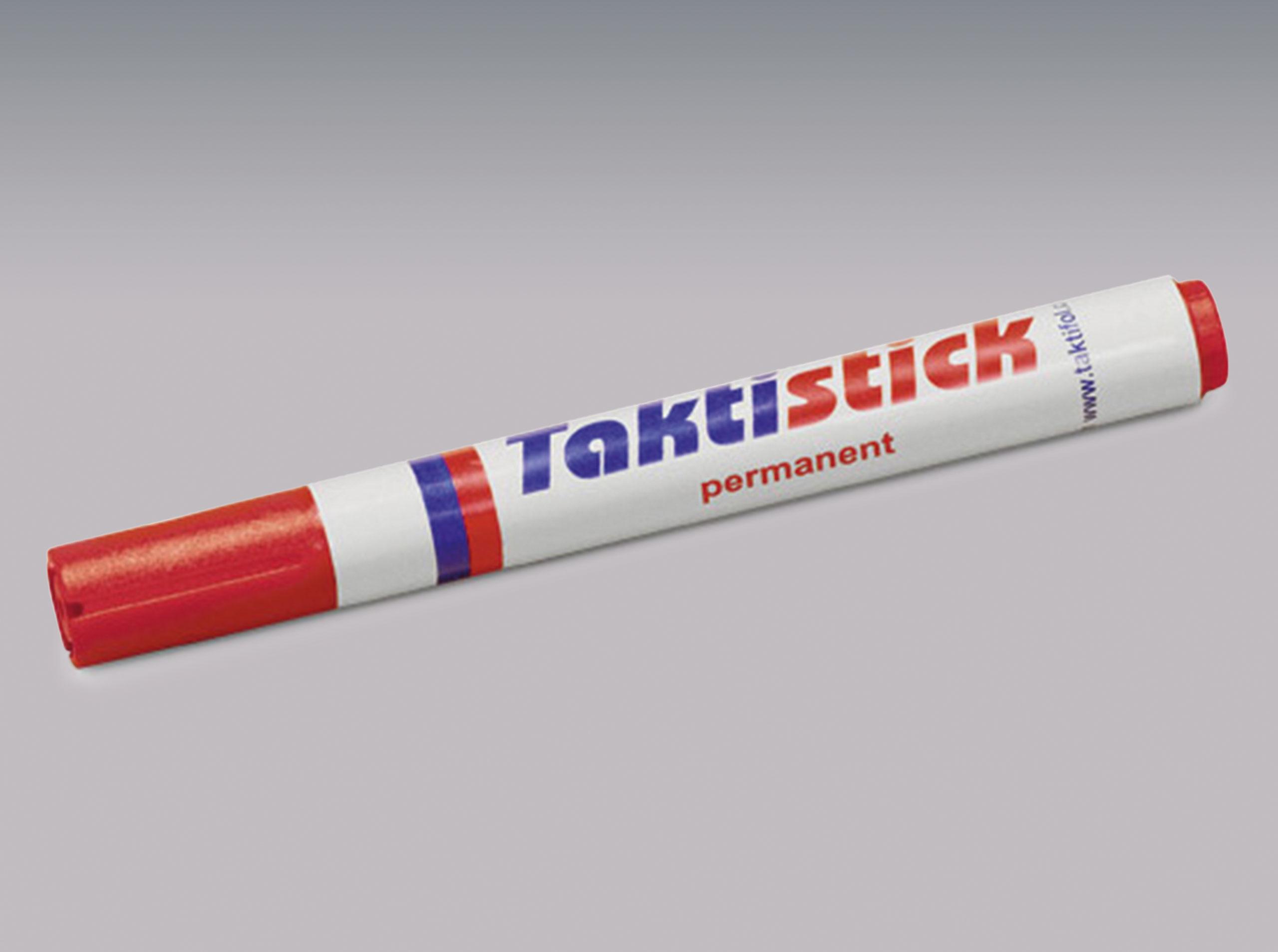 Taktistick-Marker rot permanent